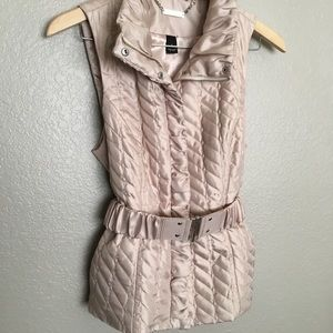 White House / Black  Quilted Vest